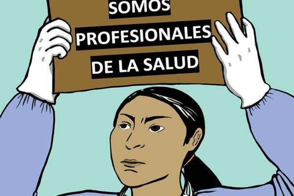 Las enfermeras y enfermeros también somos profesionales de la salud.