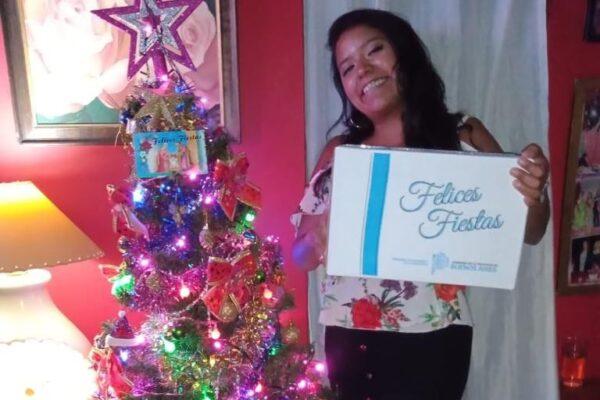 Mi primera caja navideña